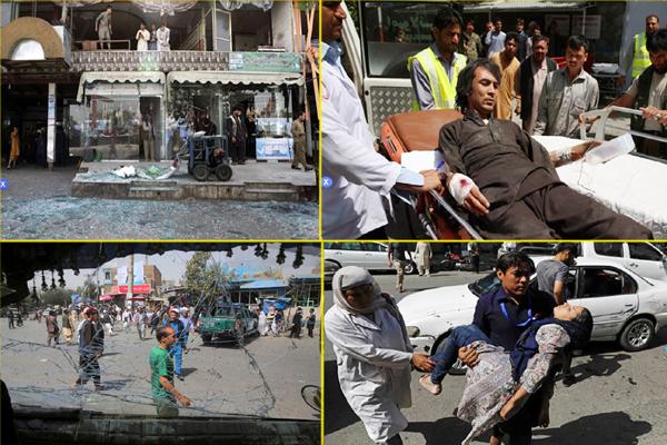 کابل میں طالبان نے کیا دہشت گردانہ حملہ: 18 افرادہلاک، 145 زخمی