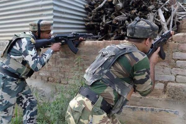 جموں کشمیر: نگروٹہ  تصادم میں 3 دہشت گردہلاک، 1 جوان زخمی