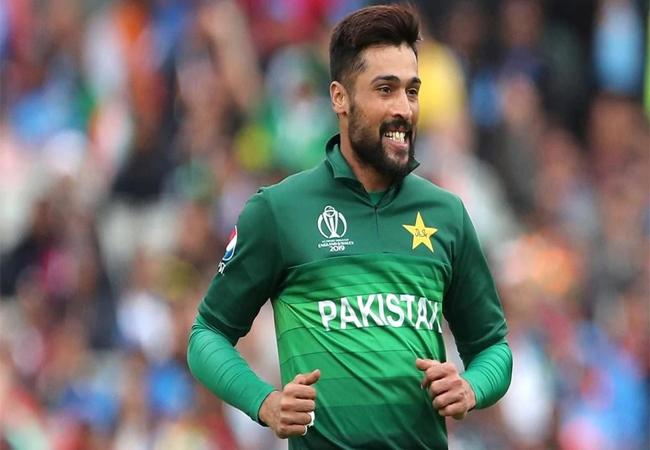 پاکستان کے تیز گیند باز محمد عامر کی کورونا رپورٹ نیگیٹو آئی