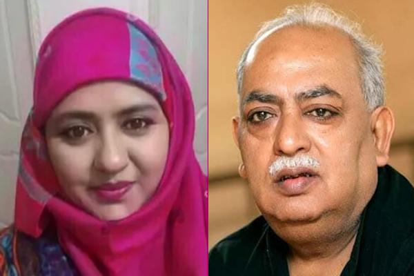 منور رانا کے بیان سے متفق ہیں بیٹی سمیہ، کہا- ایودھیا میں ہسپتال بنے، مسجد کے لئے میرے والد دے دیں گے زمین