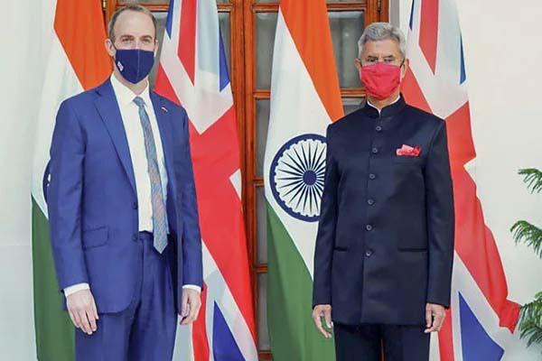 جے شنکر نے برطانوی وزیر خارجہ کے ساتھ افغانستان کی صورتحال پر بات چیت کی