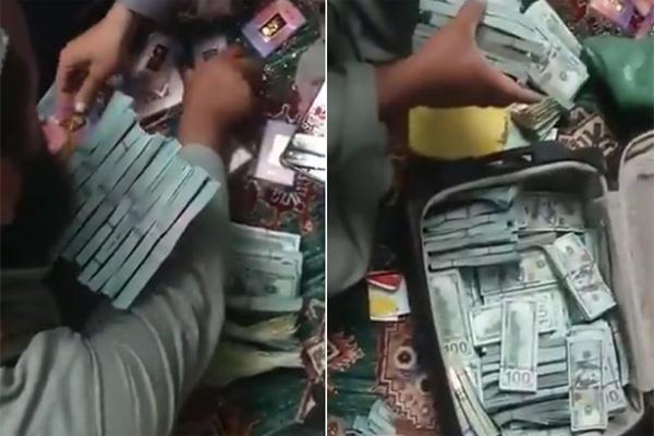 افغانستان کی پچھلی سرکار کے کئی عہدیداروں،خفیہ ایجنسی دفتر پر مارے گئے چھاپے ضبط کیا سونااور12.3 لاکھ امریکی ڈالر